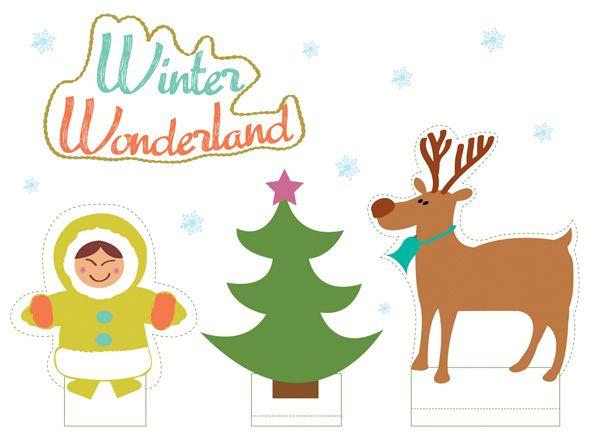 Zet de kinderen heerlijk aan het knutselen terwijl jezelf ontspannen in de keuken bezig bent met de voorbereidingen van het kerstdiner. Met deze Winter Wonderland download maken ze een winterse kijkdoos waar ze wel even zoet mee zijn.  Fijne 2e kerstdag!