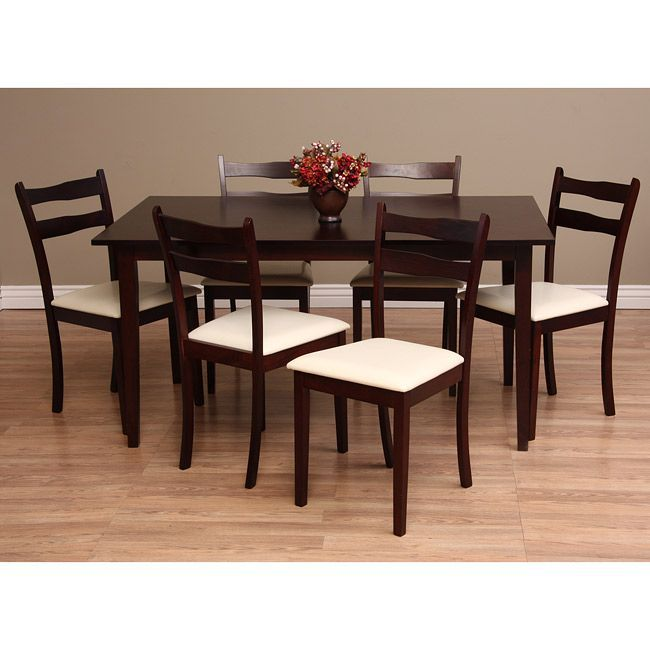 Warehouse Of Tiffany Callan Seven Piece Chalk Dining Furniture Set By  Warehouse Of Tiffany