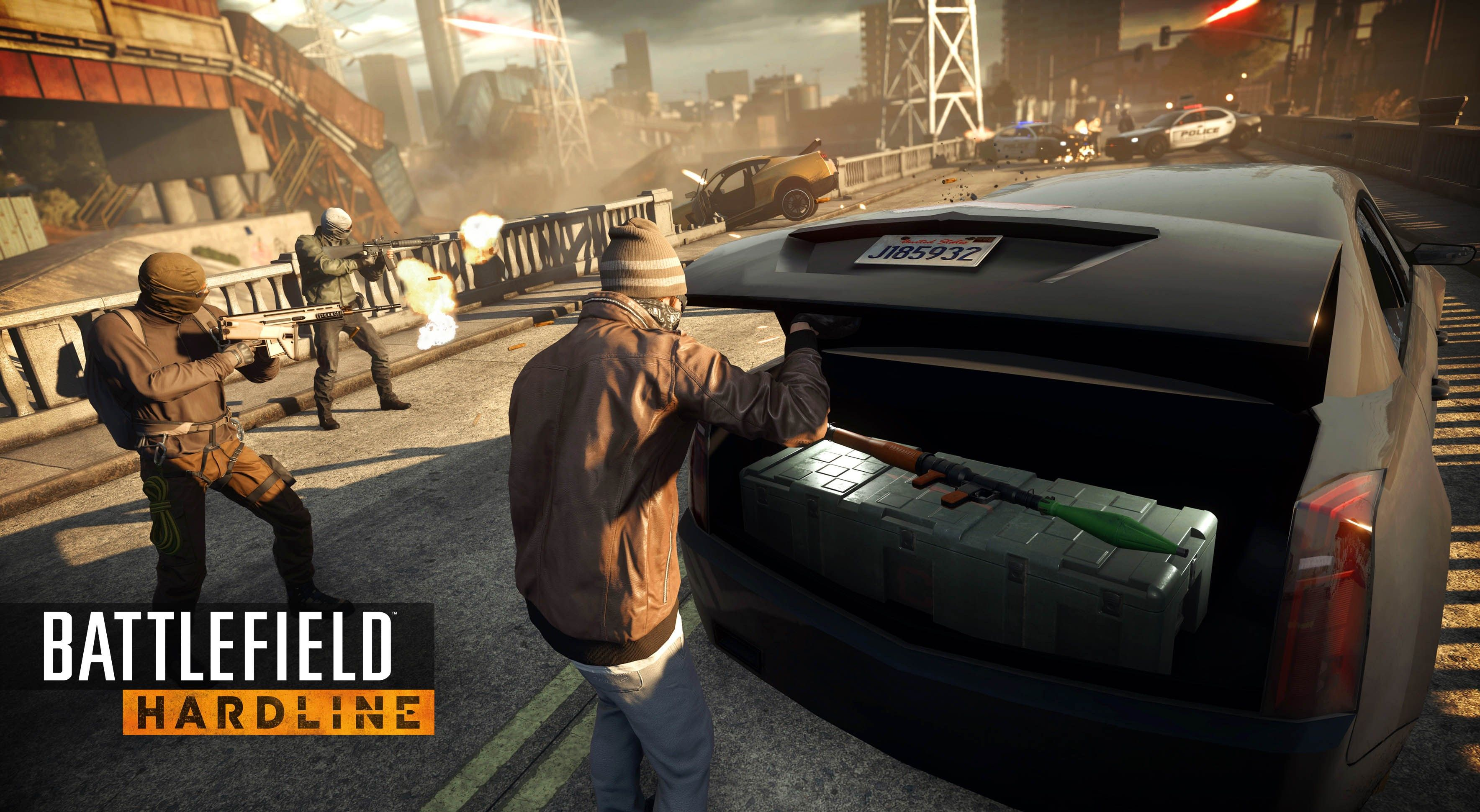 Battlefield Hardline Background Hd