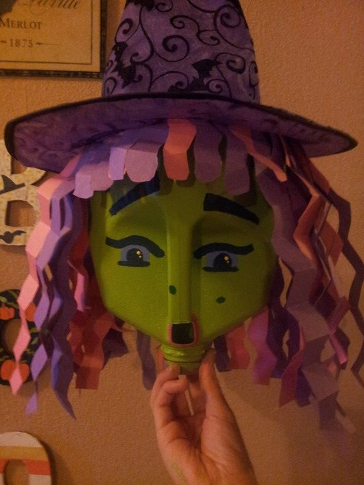 diy how to make a witch hat
