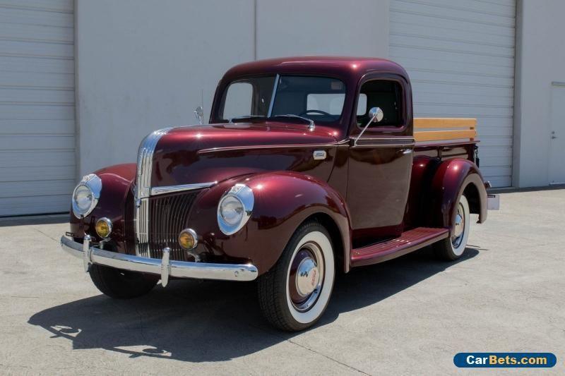 1940 Ford Other Pickups Ford Otherpickups Forsale Unitedstates