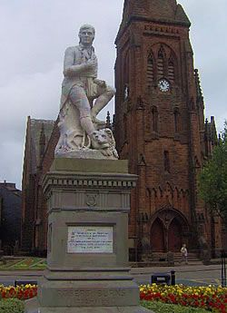 Dumfries and Galloway, Scotland - birth place of my favorite poet - Robert Burns