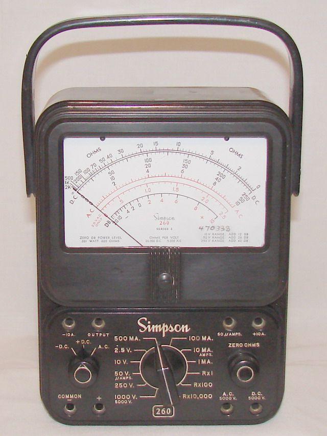 Simpson 260 Series 3 - Volt - Ohm - Milliammeter - Manufactured c1959