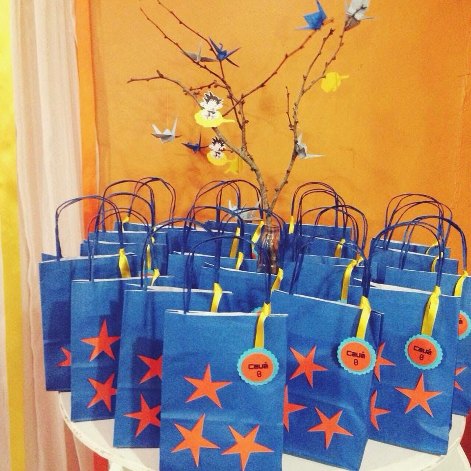 Encomendas Mirellaburitydecor Gmail Com Fiesta Del Dragón Cumpleaños De Dragón Piñata De Goku