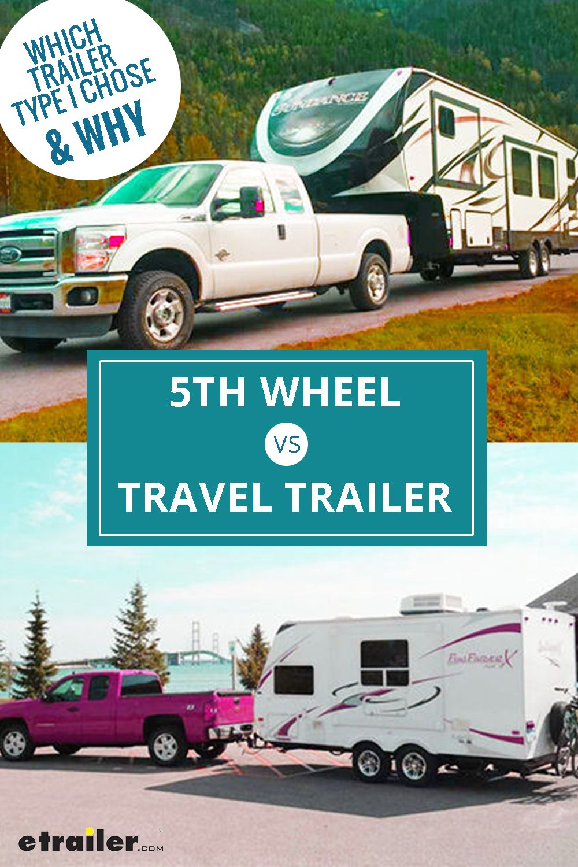 5th Wheel Vs Travel Trailer Which Should You Buy Travel Trailer Travel Rv Living Full Time