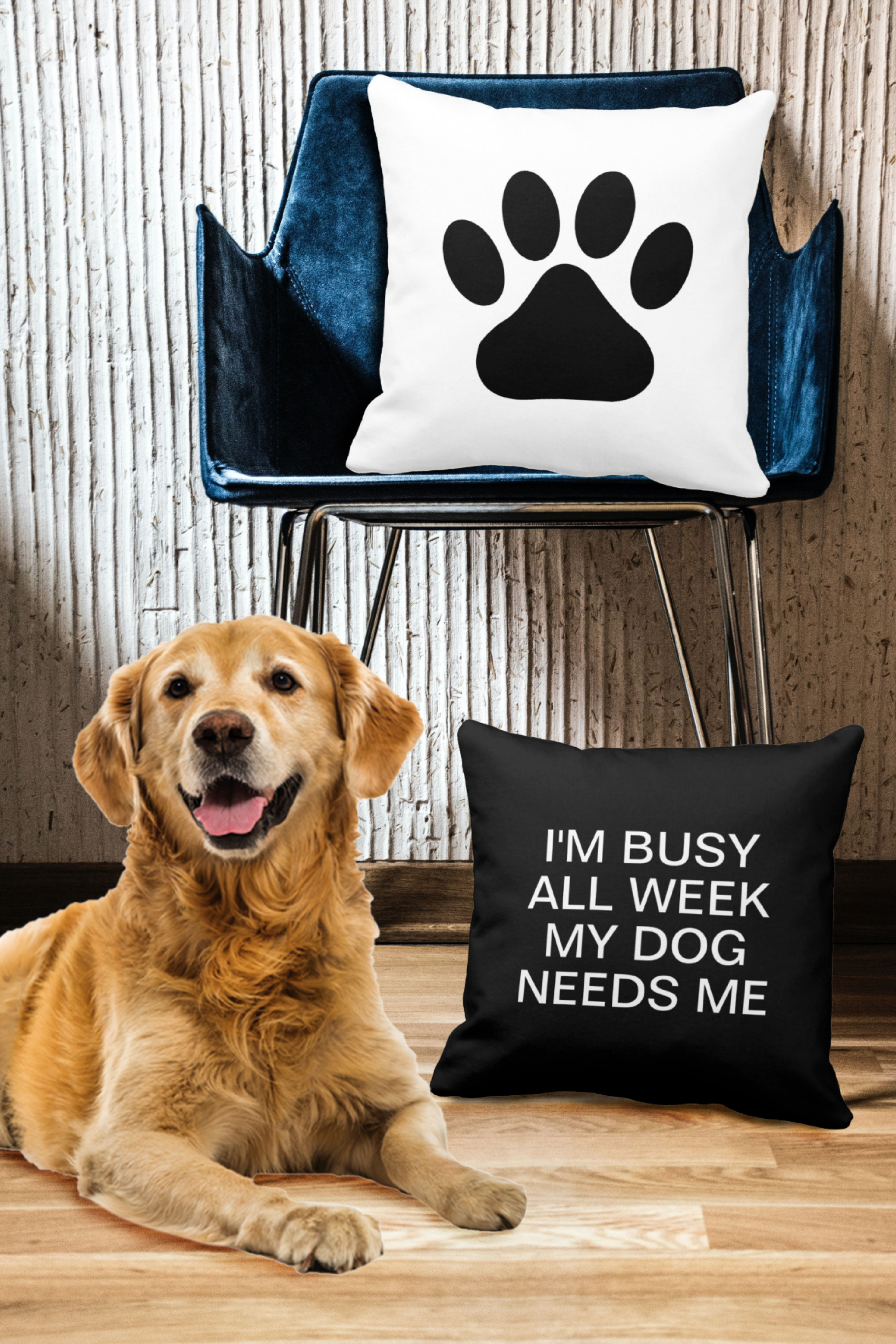 Funny Dog Quote Reversible Paw Print Throw Pillow Dog Lover Pillow Dog Quotes Funny Dog Quotes