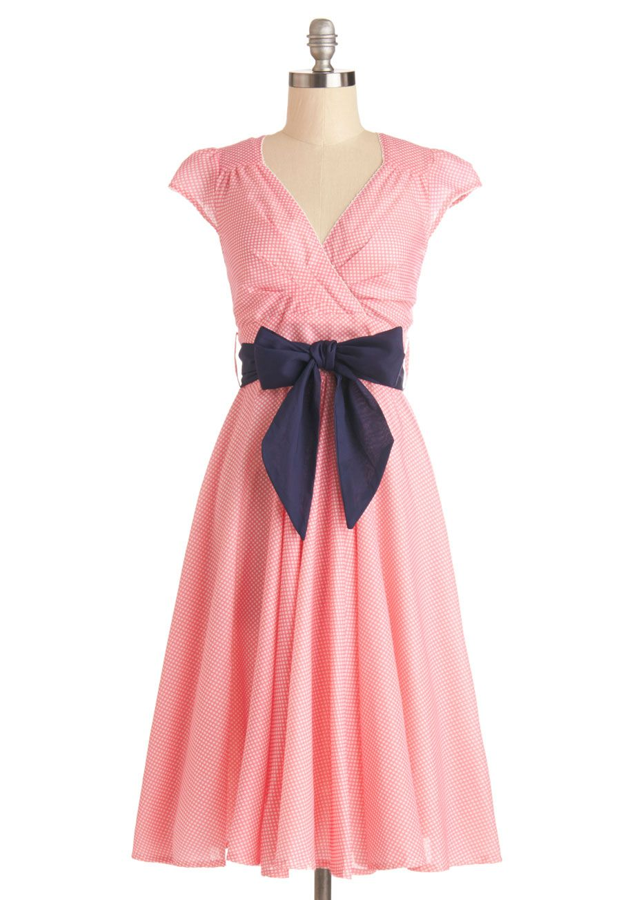 LOVE this color combo! Pink & navy | Dresses & Skirts | Pinterest ...