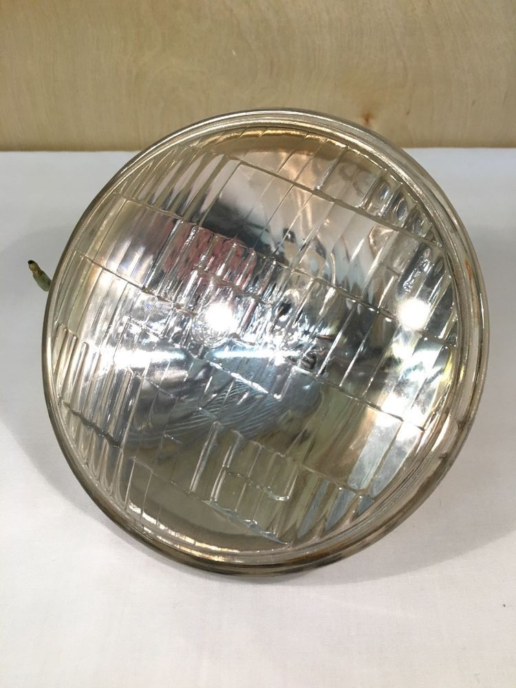Yamaha Dt400 Dt 400 Oem Headlight Head Light Lens Bulb Ring 75 General Electric Vintage Bike Parts Bucket Light Bulb