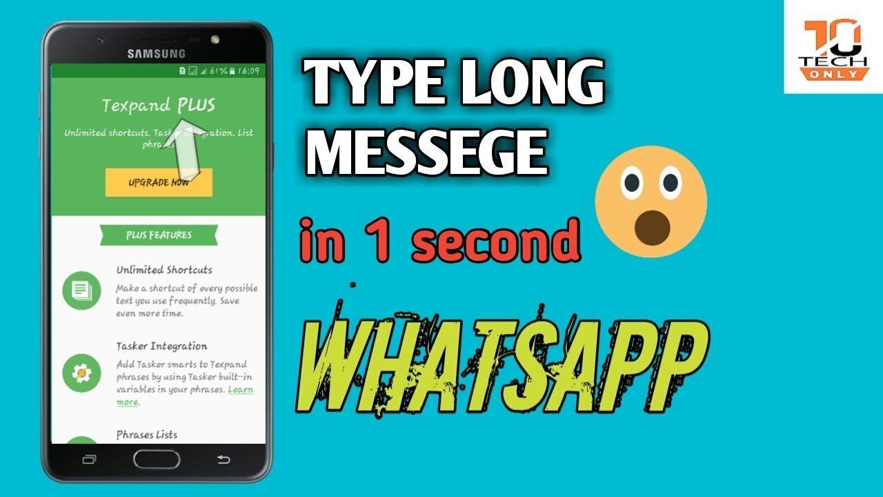 Latest Best WhatsApp trick 2019 by tech only https//youtu
