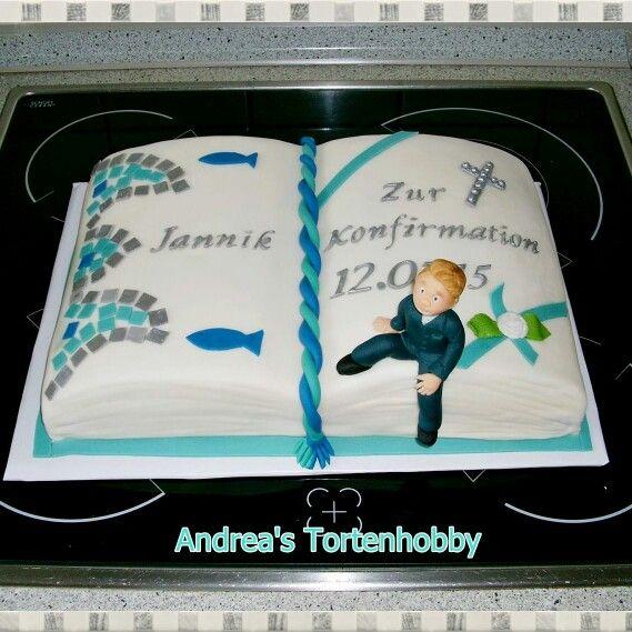 Cinfirmation cake book  Konfirmationstorte Buch  Meine