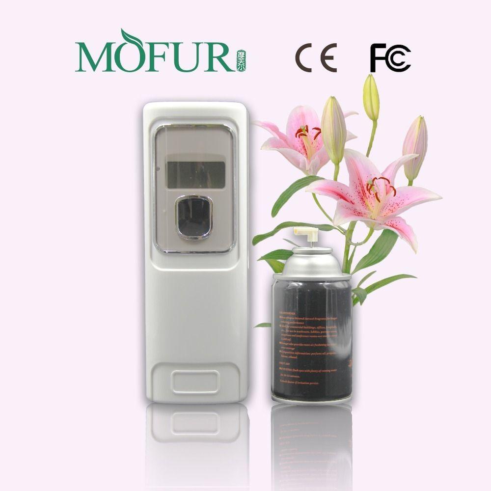 Beautiful Odor Treatment Aerosol Dispenser Auto Digital Air Freshener Air Purifier  Hotel Bathroom Toilet Spray Reills OEM