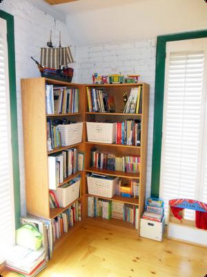 corner shelves :)