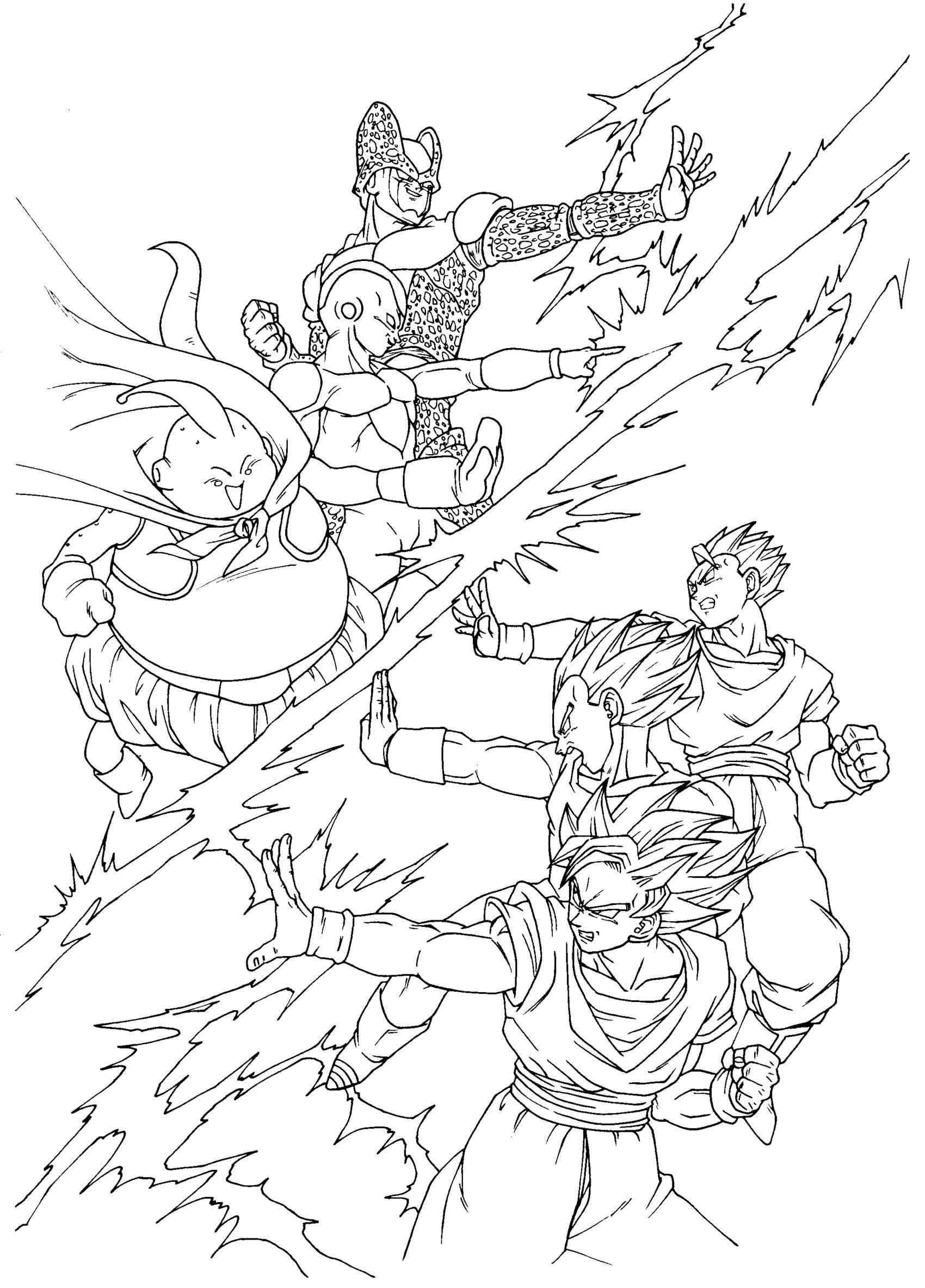 Db team dragon ball desenhos dragonball desenhos