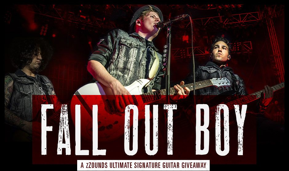 musical instrument giveaway fall out boy signature instrument giveaway fall out boy 8328