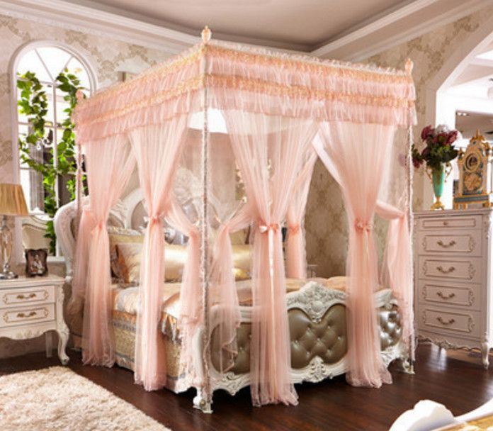 Princess Canopy Double Bed Bedroom Princess Canopy