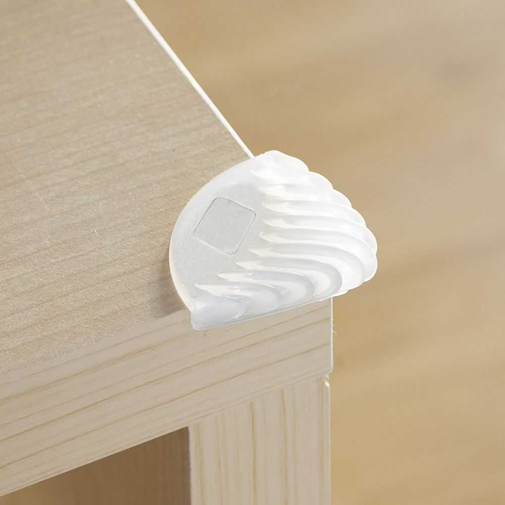 BabyDan Protection de Coin de Meubles Blanc