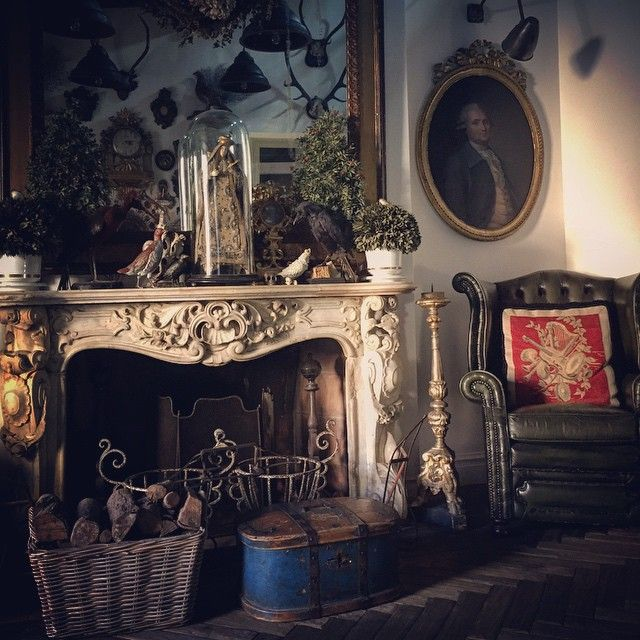 Habitually ChicR Instagram Chic Alessandro Michele English InteriorSouthern