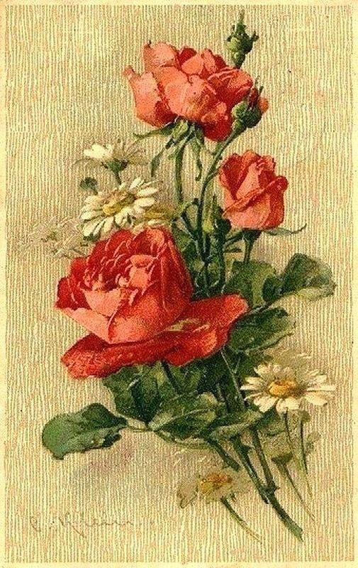 можете красивые картинки с цветами старинные чаще всего