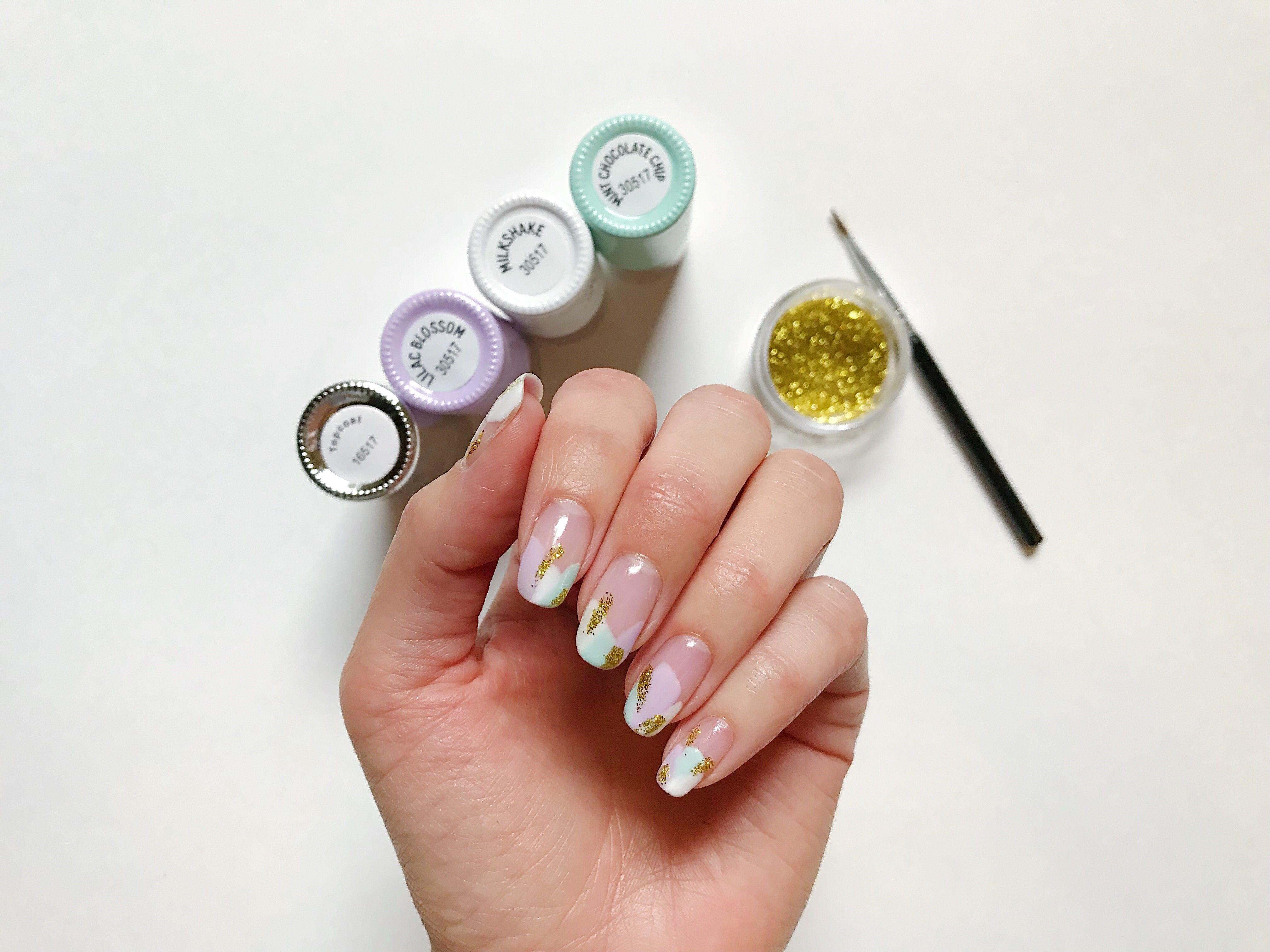 Part 1 Abstract Nail Art Tutorial Using Le Mini Macaron Nail