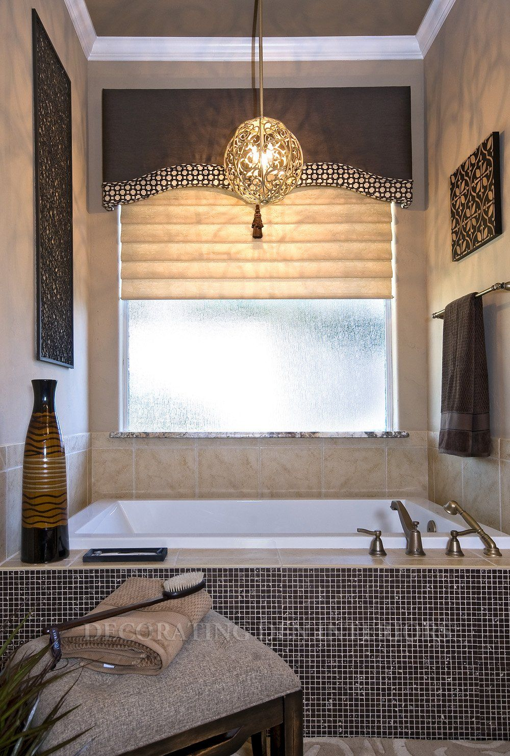 Window Treatments designs by Decorating Den Interiors Want this