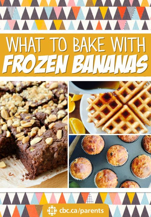 What To Bake With Frozen Bananas   CBC Parents