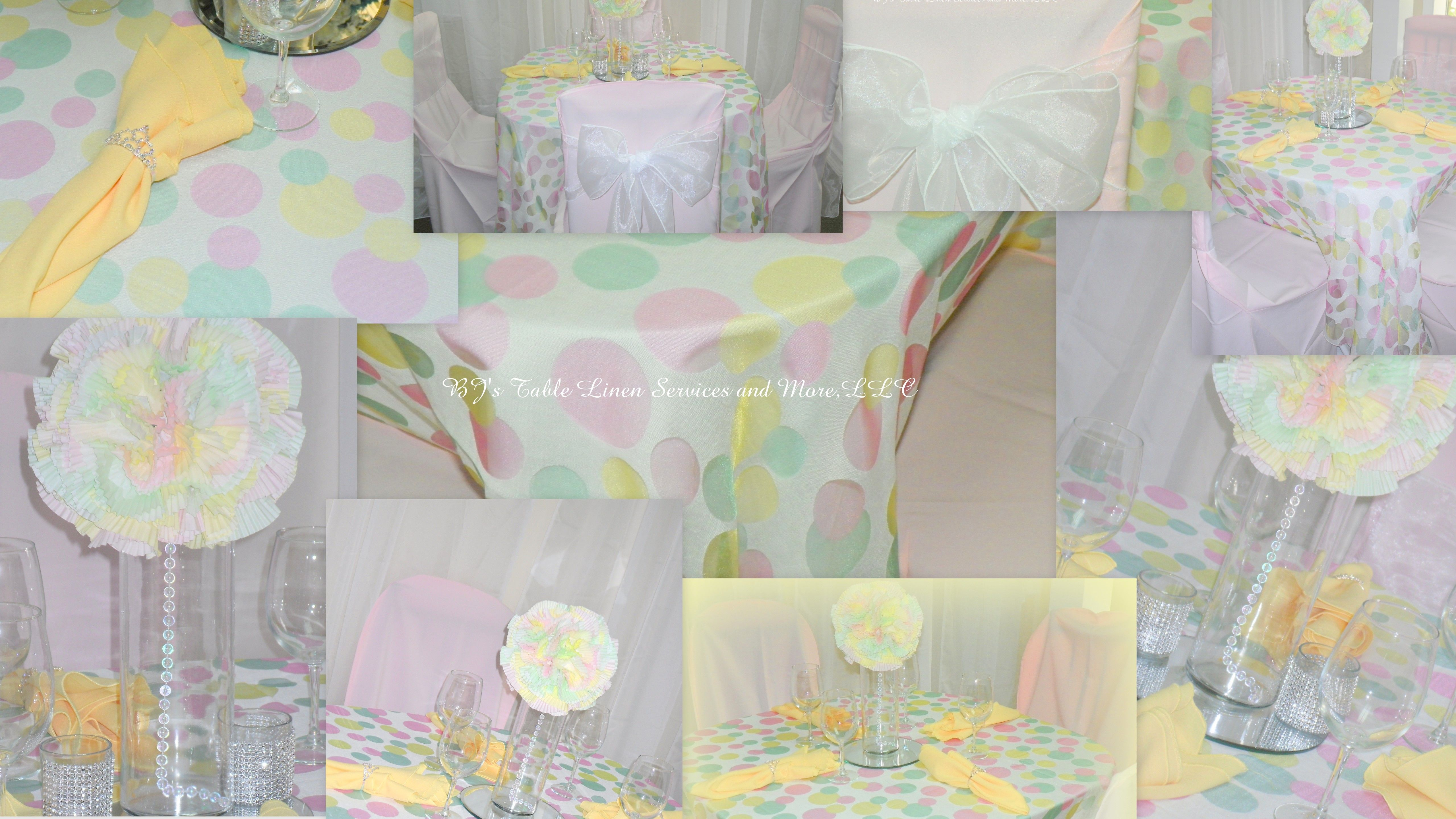 Welcome Spring with this pastel color theme.