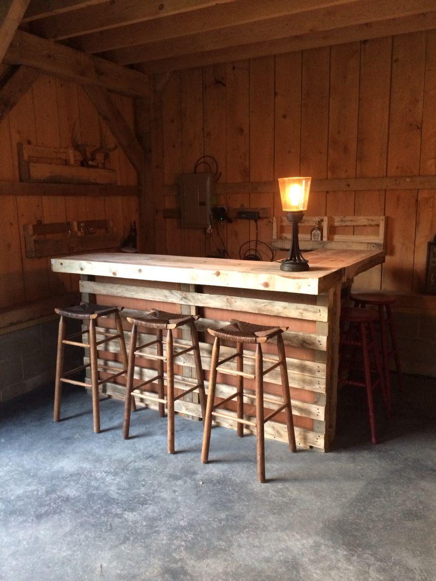 Pallet Bar | Projects | Pinterest | Pallets