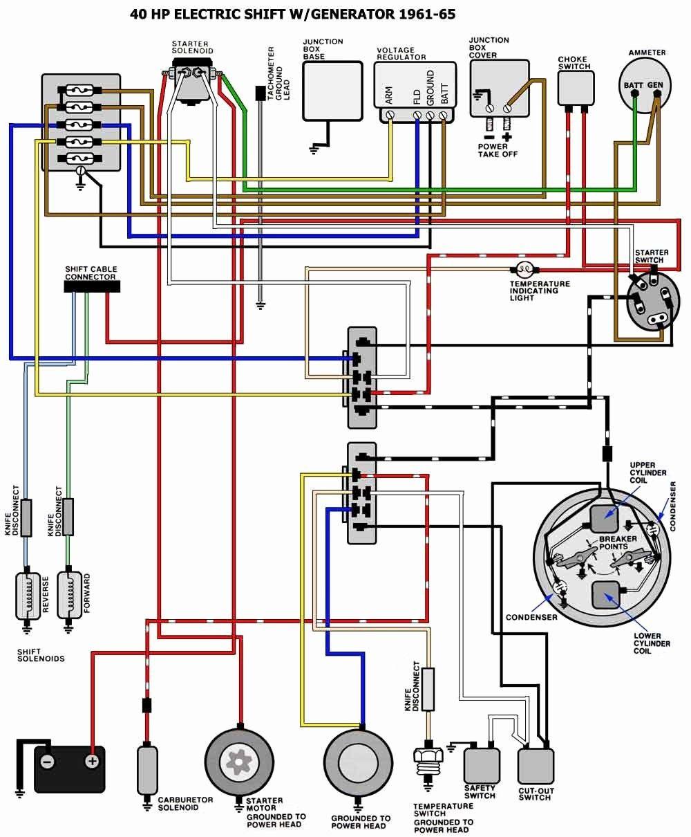 1979 Mercury Outboard Internal Wiring Harness Diagram