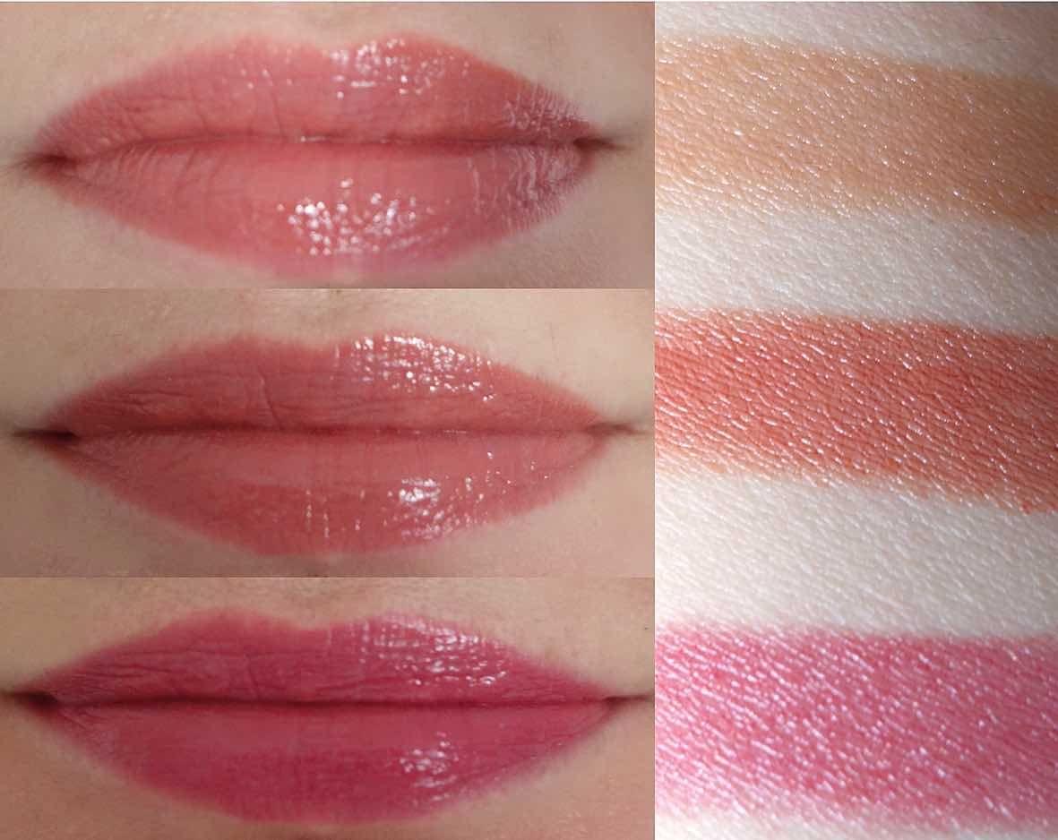 Peaches cream lippies
