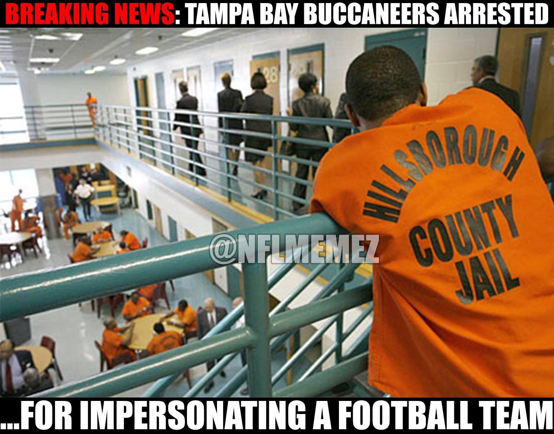 Breaking News Tampa Bay Buccaneers Get Arrested Tampa Bay Buccaneers Football Funny Tampa Bay Buccaneers Funny