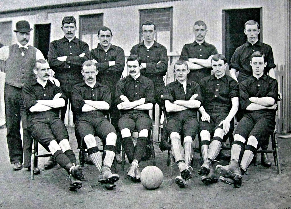Woolwich Arsenal football team photo in 1894