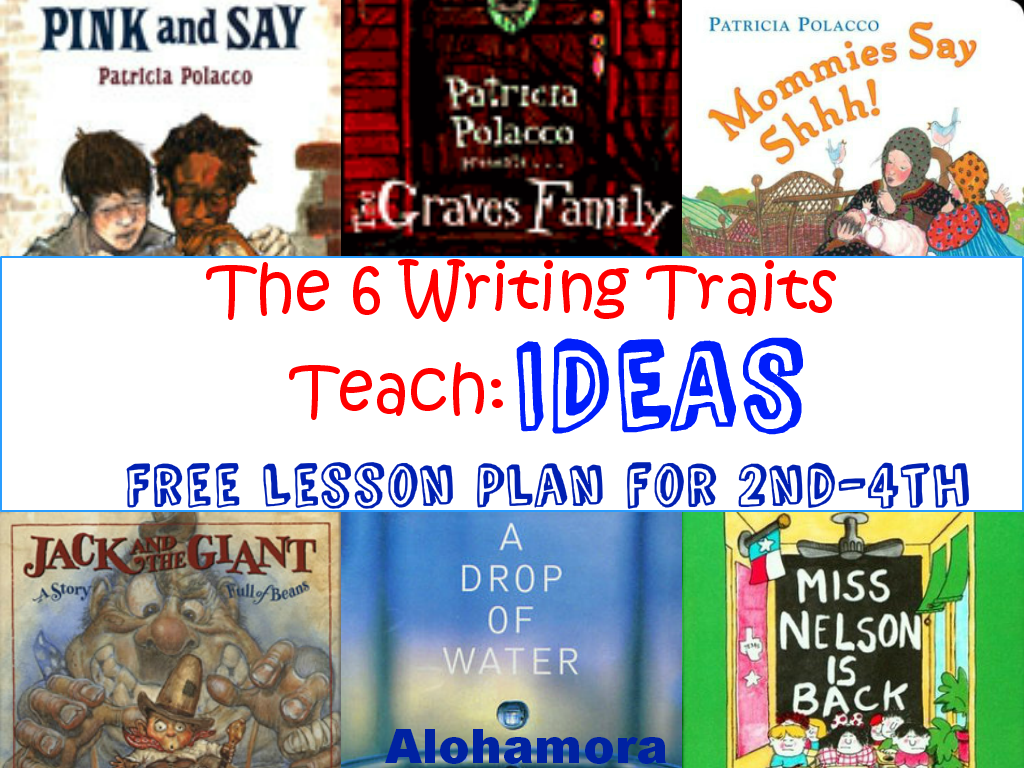 A Free Printable Lesson Plan To Teach The Six 6 Writing