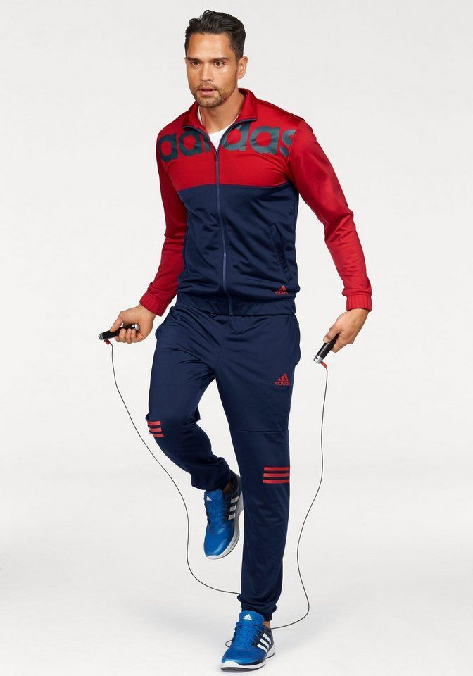 sports shoes 8956c dd122 adidas Performance Trainingsanzug »PES MID3S CB TRACKSUIT ...