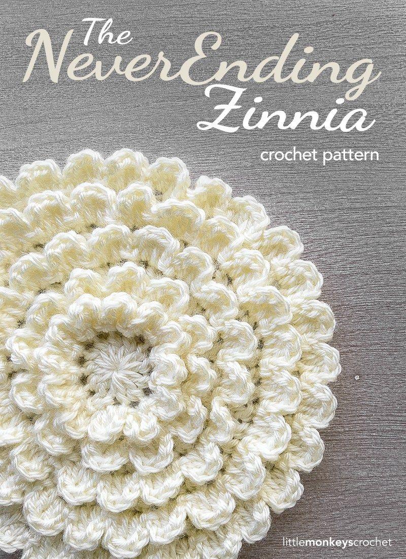 The Neverending Zinnia | Crochet Patterns | Pinterest | Crochet ...