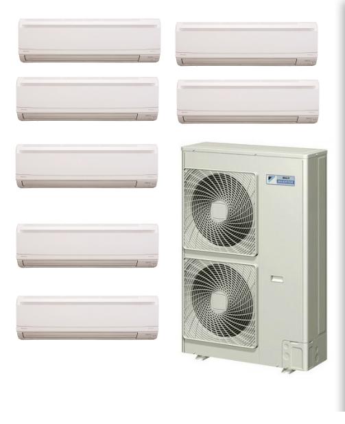 7 Zone Mini Split AC Systems in