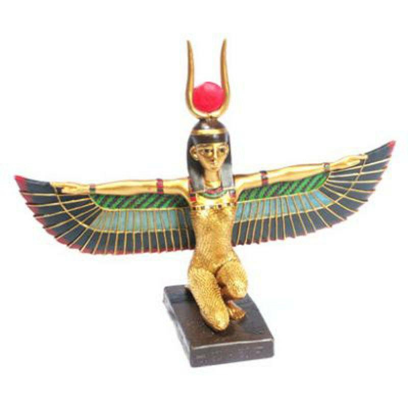 Ägyptische Göttin Maat kniend