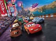 Wall Mural Photo Wallpaper Cars 2 Disney For Kids Nursery Decoration Pixar Ebay Cars Movie Cars 2 Movie Disney Pixar Cars