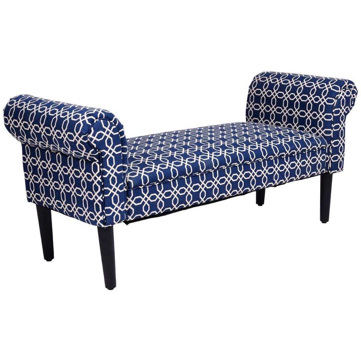 53 5 Modern Padded Bedroom Sofa Bench In 2019 Instagram Posts