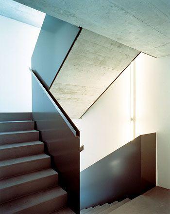 Treppenhaus architektur  Review: Umbau und Neubau - Felix Partner Architektur AG | Stairs ...