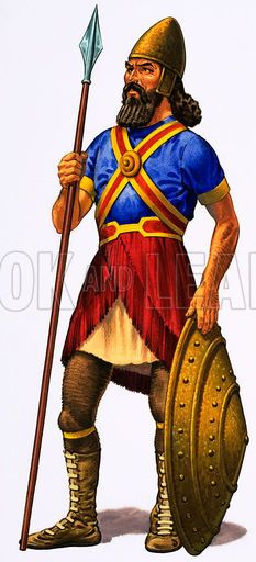 assyrian soldiers | Assyrian Warrior | Military History ...