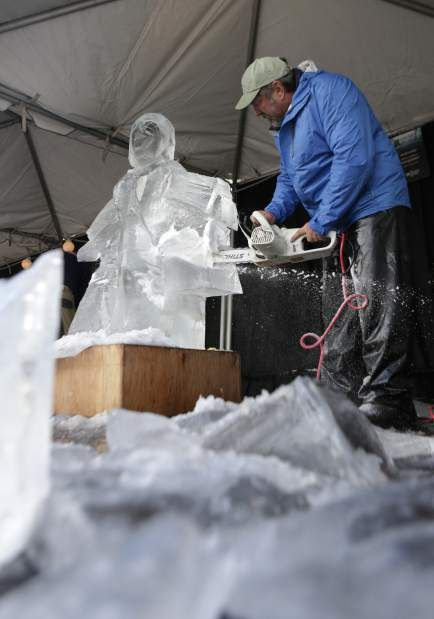 Ice sculptors show off skills at Winterfest; • Ice artists work against higher-than-usual temperatures at Oregon WinterFest