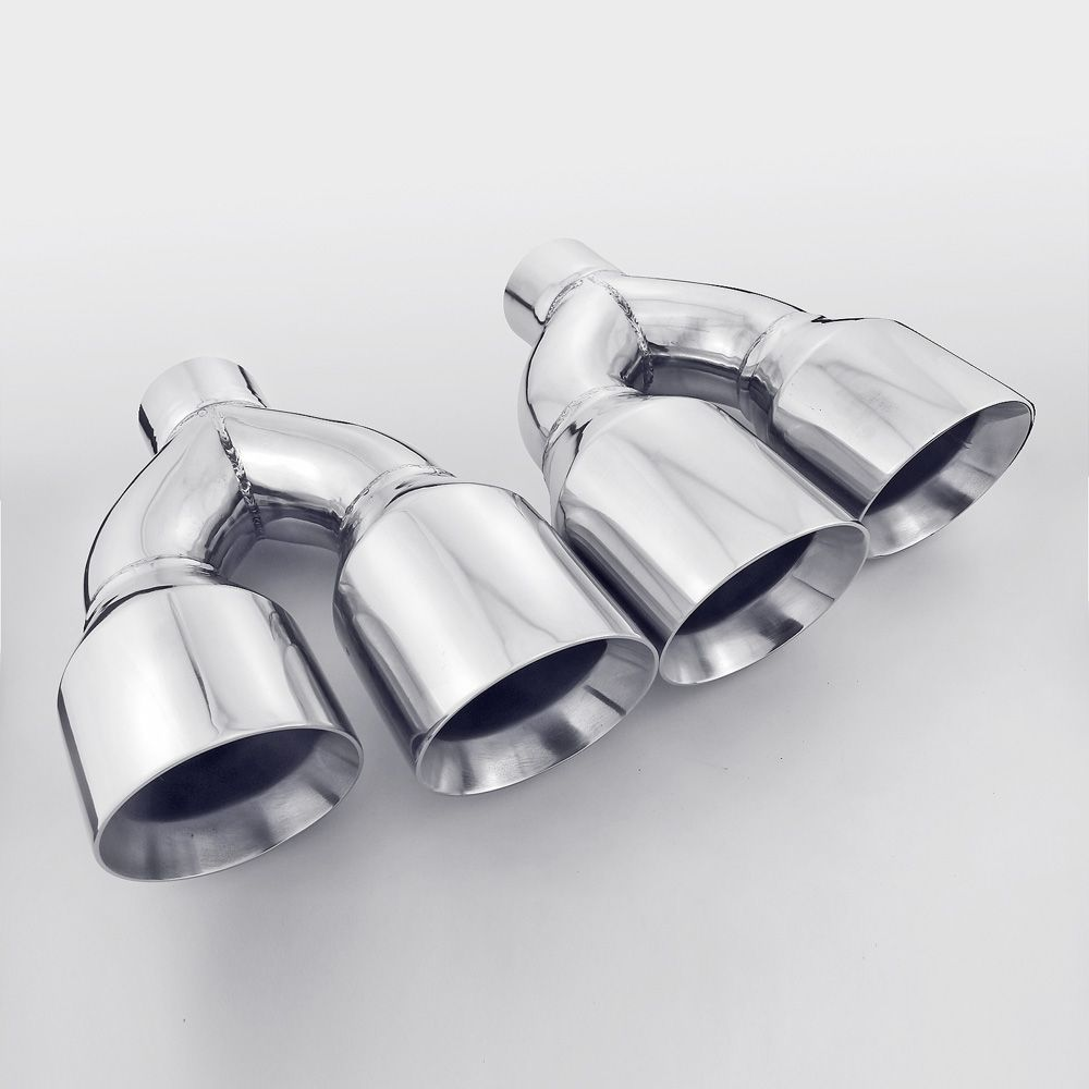 Details About Quad Exhaust Tip For Mustang Gt 5 0 5 2 V8 2015 2 5
