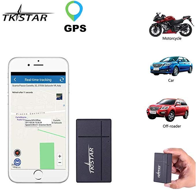 Portable Small GPS Tracker,60 Day Long Time Standby Real