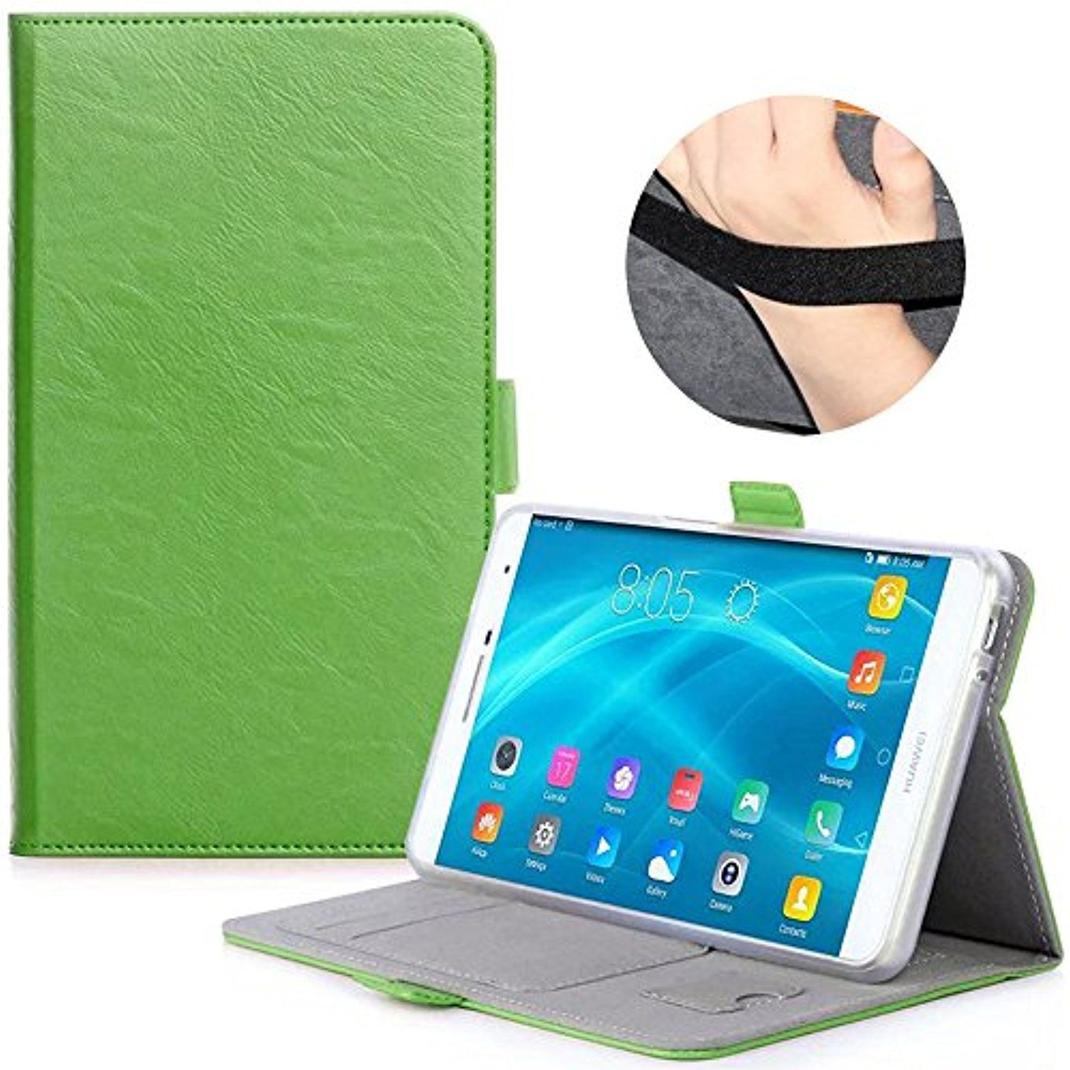 huawei mediapad m3 case avidet slim book stand pu leather case