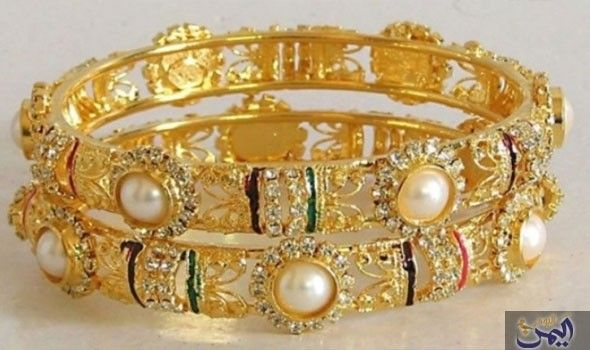متوسط اسعار الذهب الجمعة في أسواق المال في الاردن بالدينار الاردني Gold Bangles Price Gold Bangles Design Gold Bangle Set
