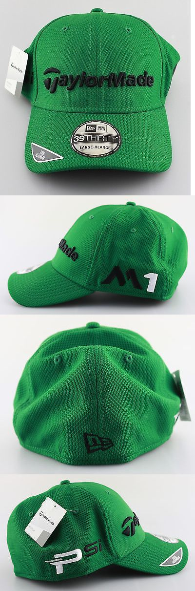 Golf Visors and Hats 158937  Mens Taylormade 2016 Masters Green Tour Golf  Hat - L 0dc414c4fee