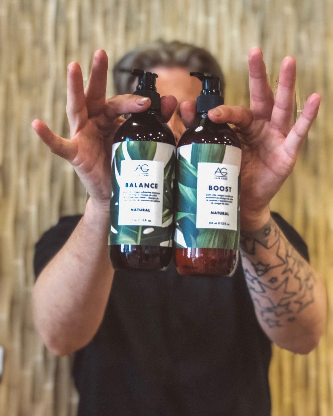 WE LOVE AG HAIR. 🍃 98 plant based 🍃Apple cider vinegar