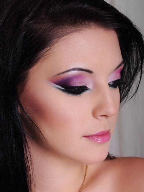 arabic eye makeup purple wwwpixsharkcom images