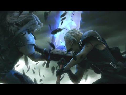Ffvii Cloud Vs Sephiroth Advent Children Complete Youtube