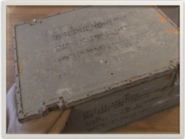 Nu in onze webwinkel: Oude vrachtkist www.jufbrocante.nl